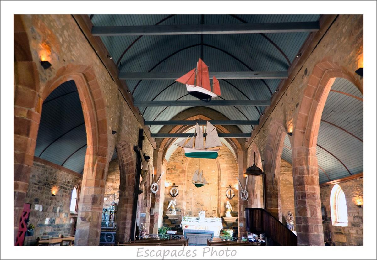 Chapelle Notre -Dame de Rocamadour Camaret : Les ex votos