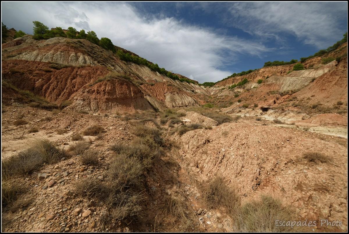 Arguedas - canyon en formation