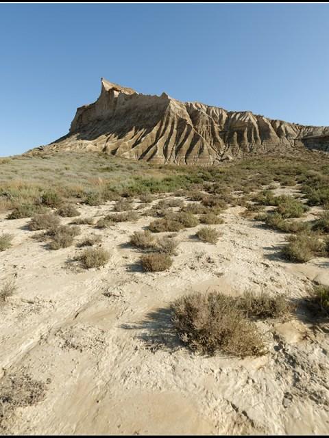 Bardena blanca Baja - paysage de western