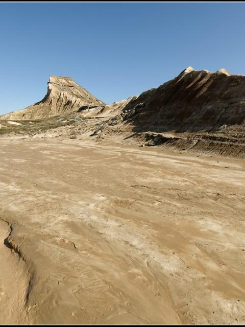 Bardena blanca Baja - coulée alluvionnaire