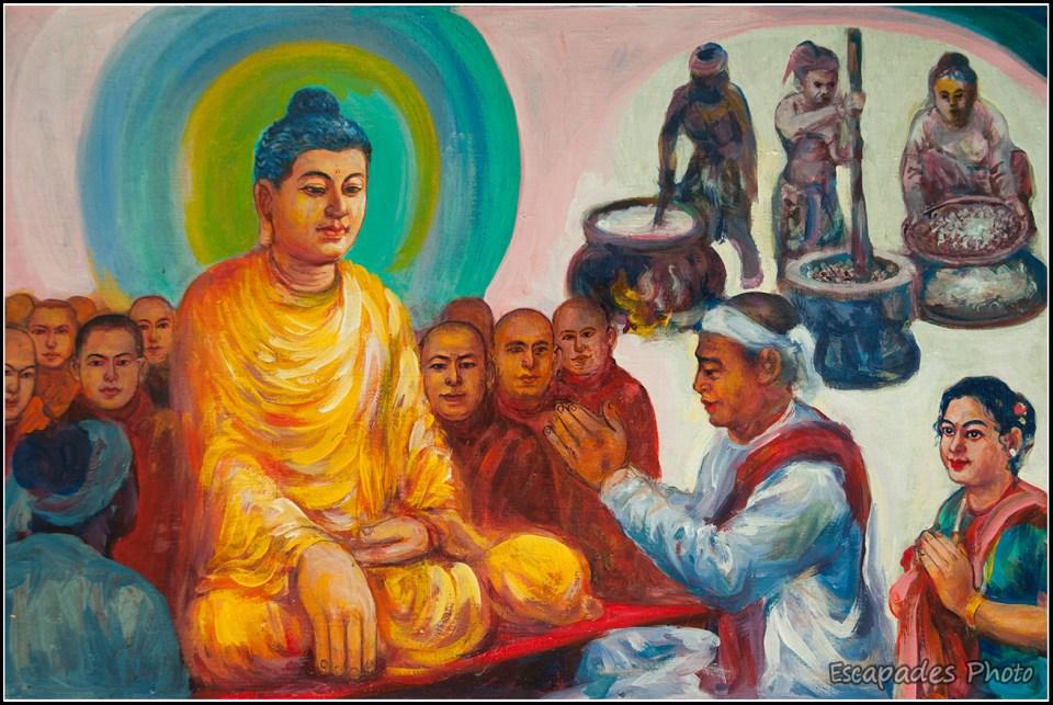 Sagaing : Bouddha en méditation