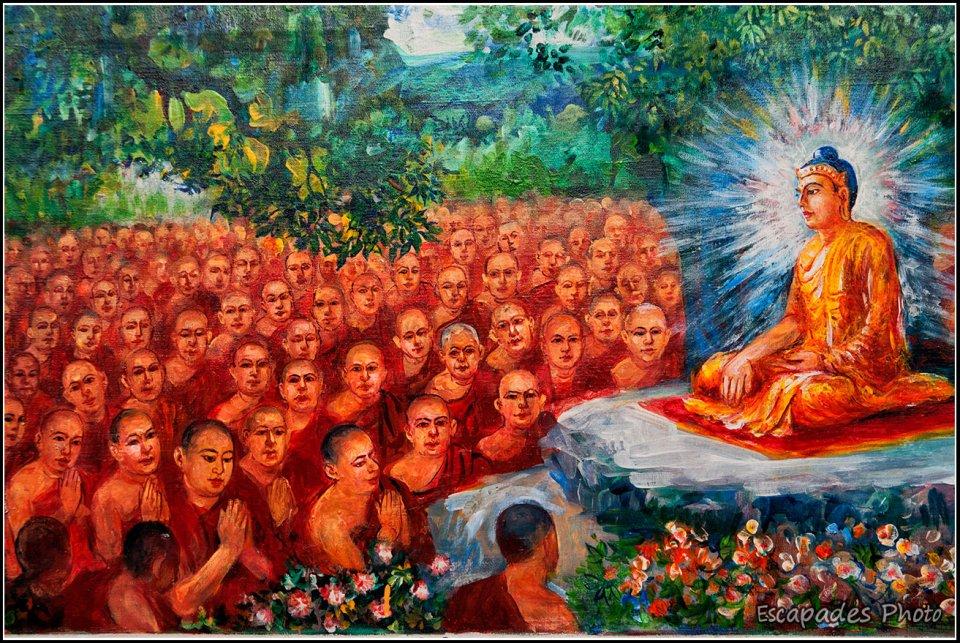 Sagaing - L'enseignement du Bouddha