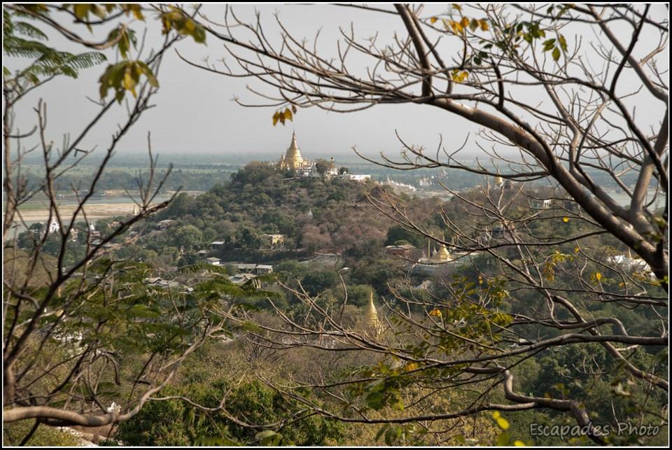 Panorama de Sagaing