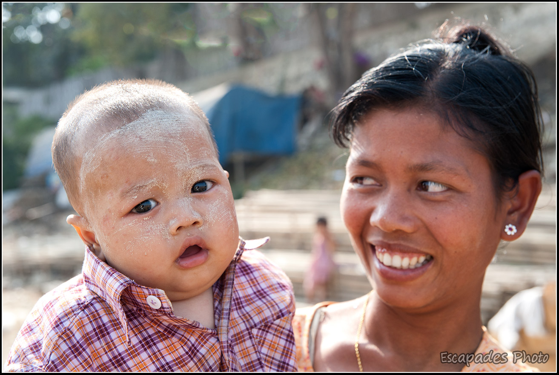 Irrawaddy, le peuple du fleuve à Mandalay