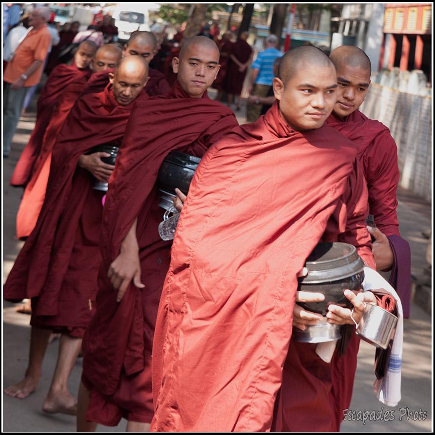 Repas des moines Mahagandayon