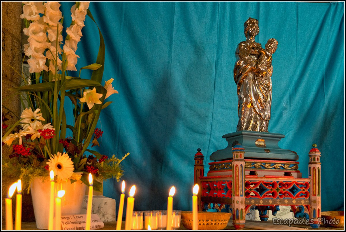 Bulat-Pestivien - Vierge en argent