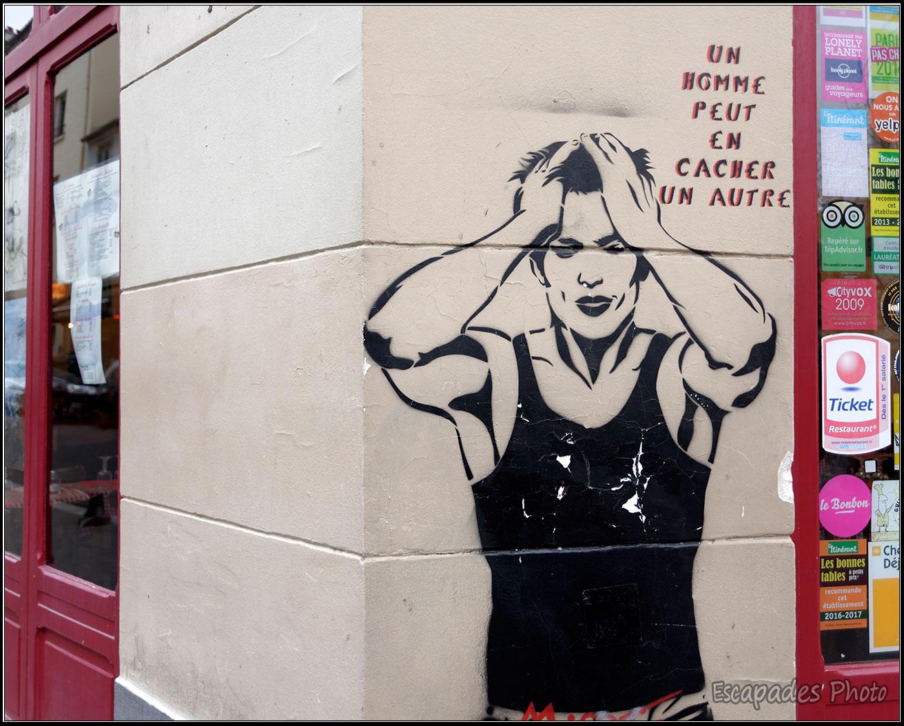 Miss Tic: Le street art qui leurre
