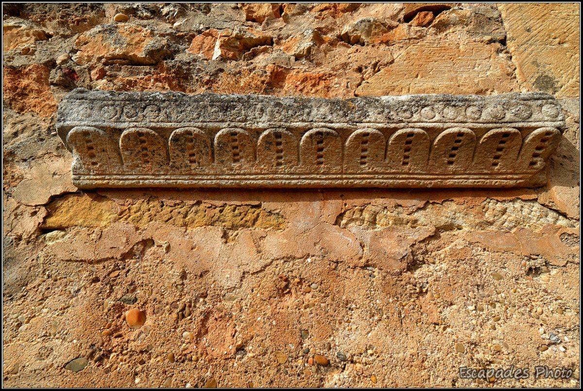 San Juan de Duero - détail du mur d'enceinte