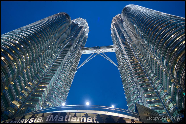 Les tours Petronas sont le symbole de Kuala Lumpur