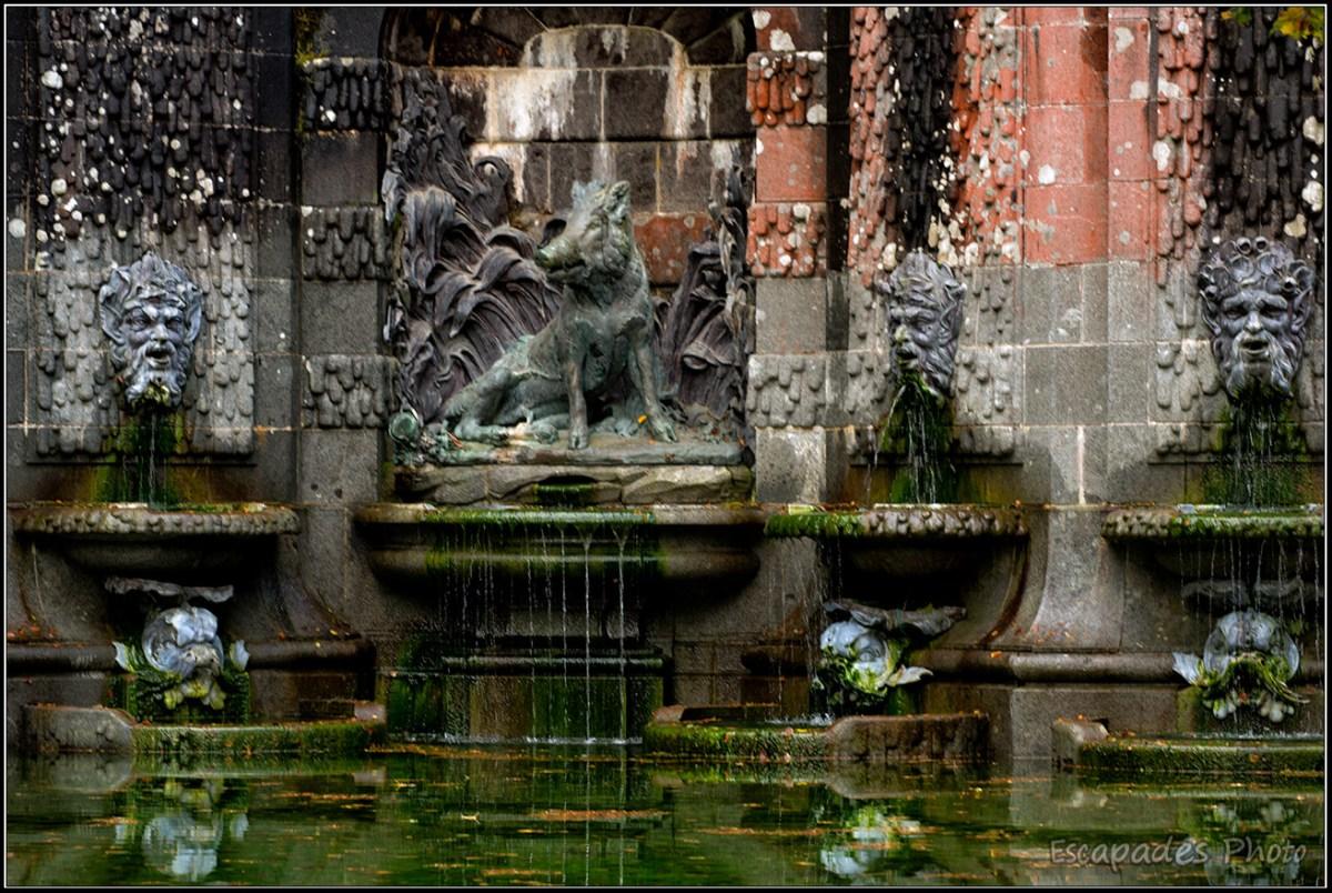 Fontaine de la chasse - Trévarez