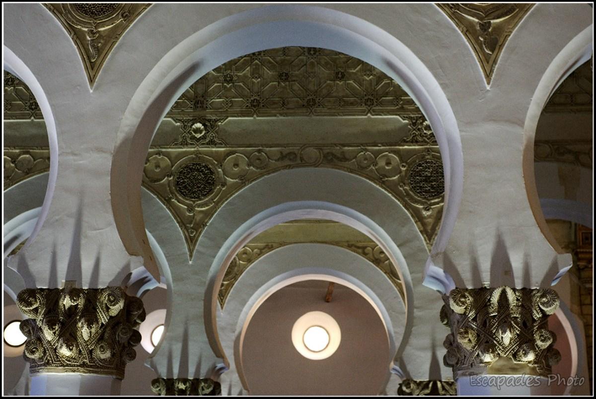 Synagogue Santa Maria la blanca - Art mudéjar