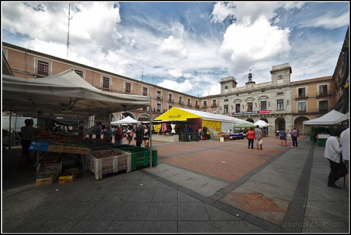 Place du marché Avila