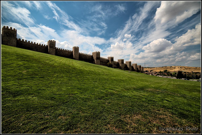 Avila, la muraille ou regards intra- et extra-muros