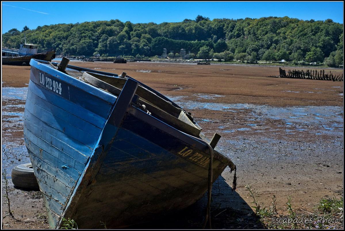 Cimetière de bateaux Lanester Kerhervy