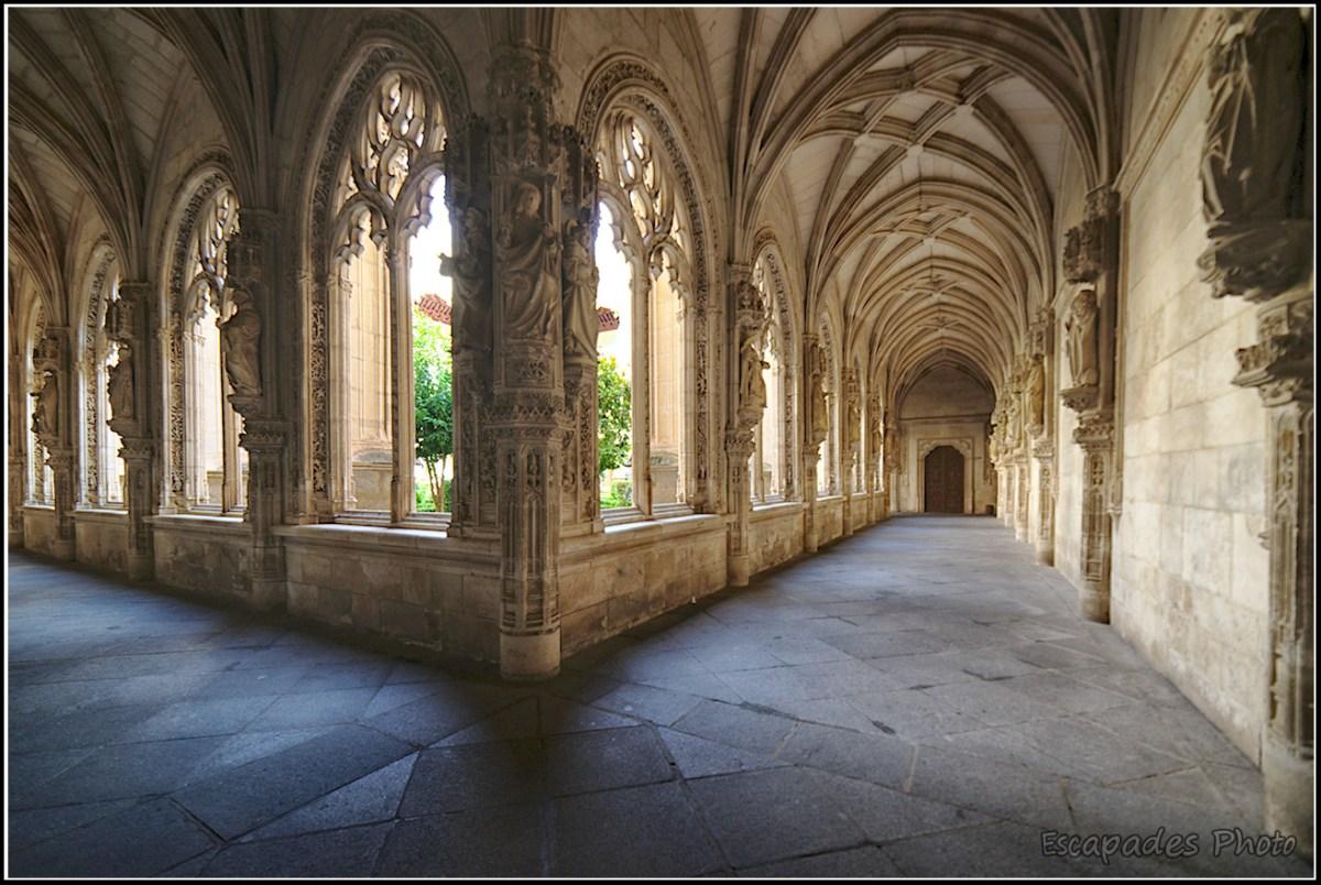 Cloître du monastère San Juan des Reyzq