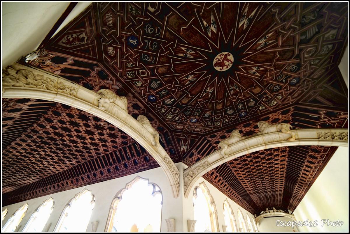 Plafond de style mozarabe - Cloître du monastère San Juan des Reyes