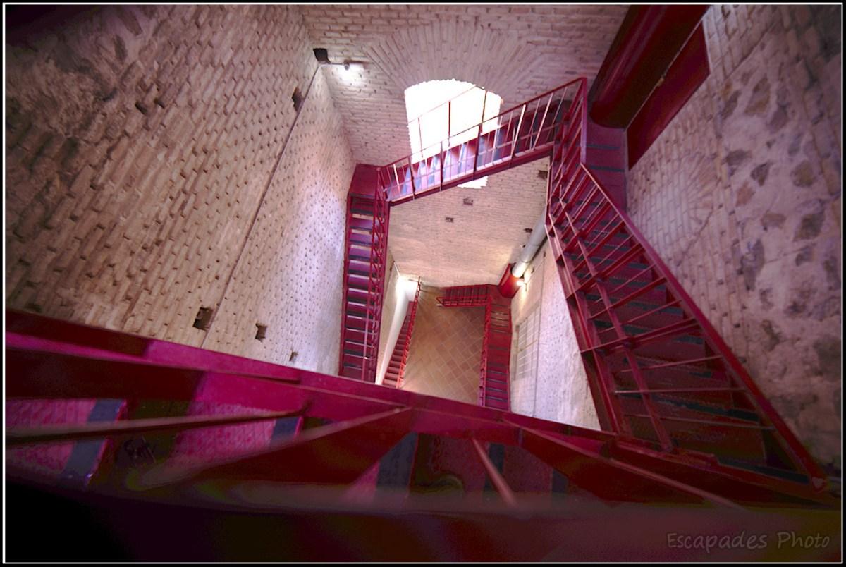 Idefonso - escalier d'accès aux tours
