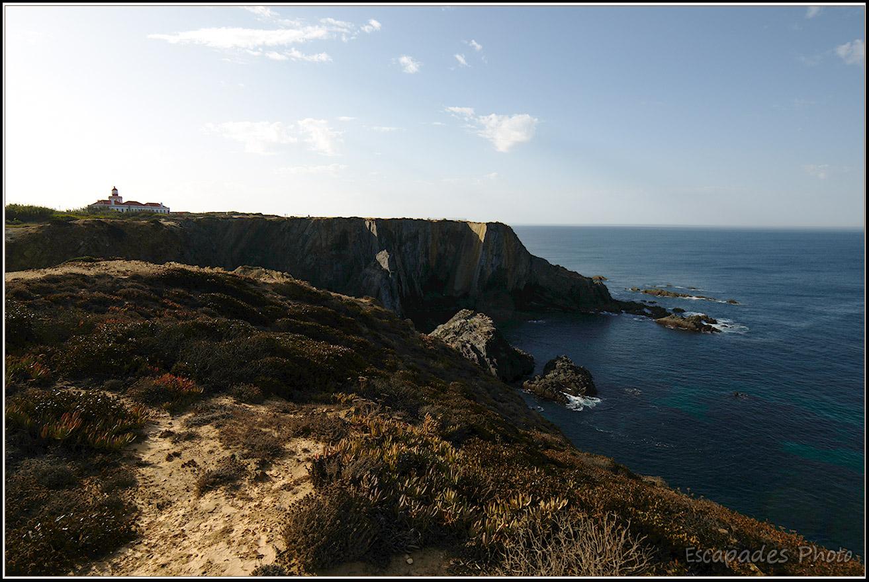 Cabo Sardão site naturel au Sud Ouest de L'Alentejo
