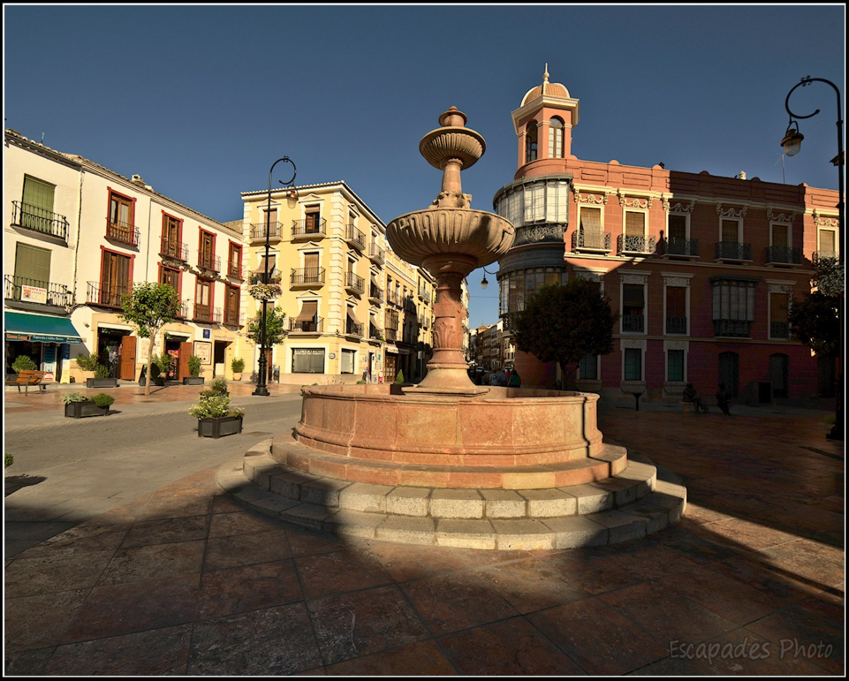 Antequera  Fontaine plaza San Sebastian