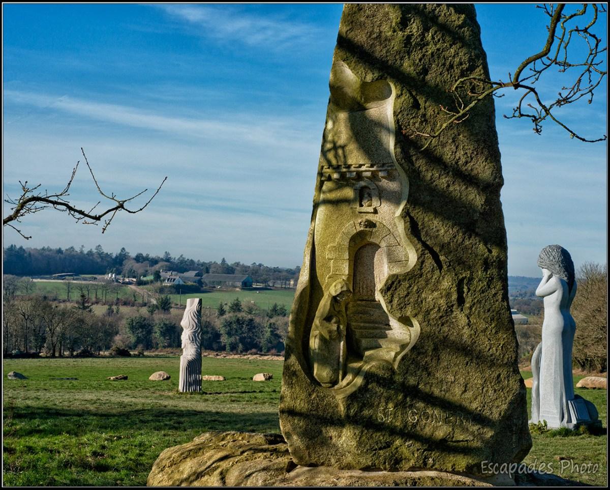 Saint-Gonéry pour l'éternité à Carnoët