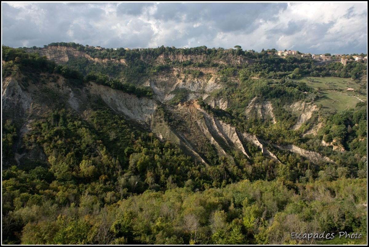 Civita di Bagnoregio : L'érosion façonne le paysage
