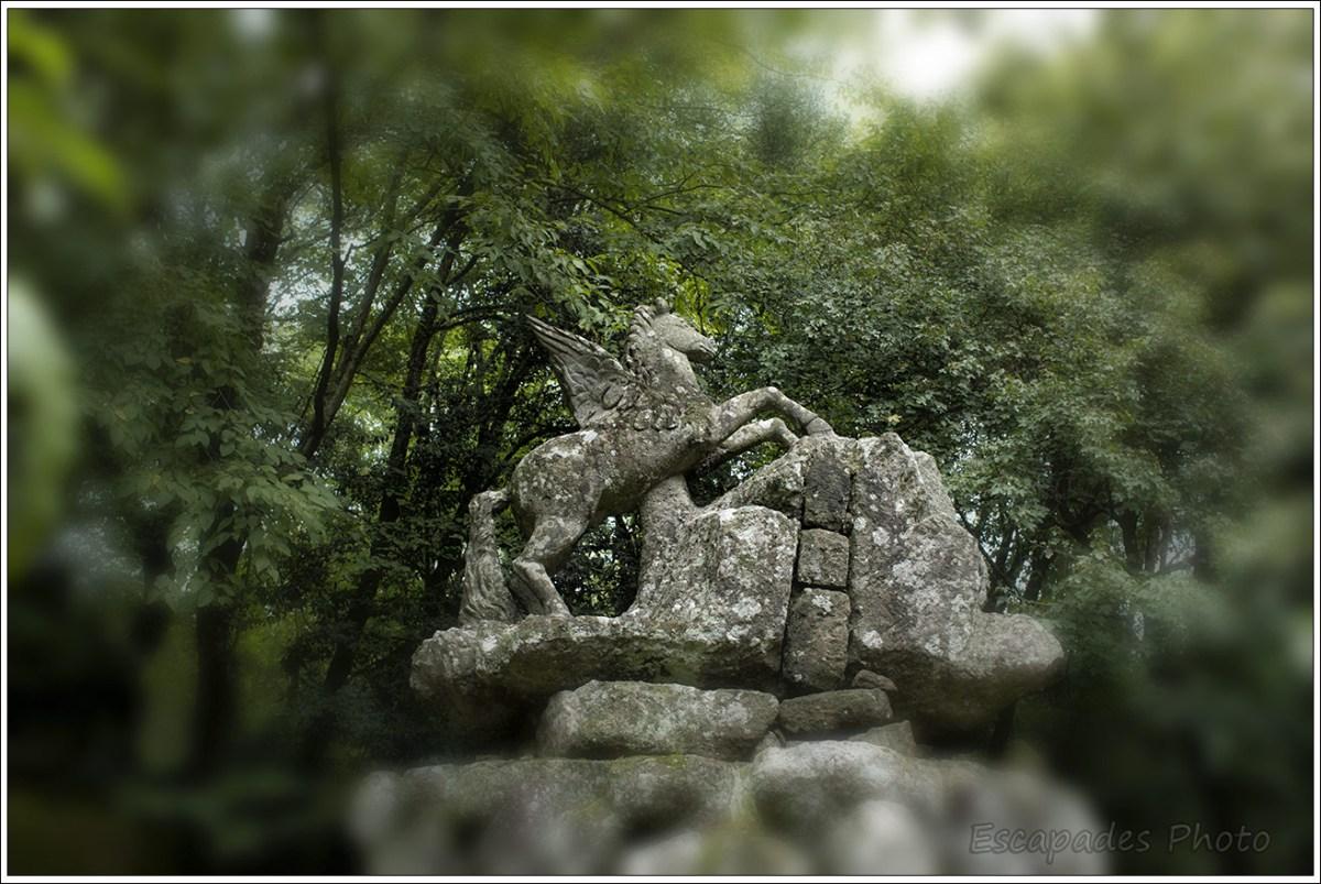 La fontaine de Pégase