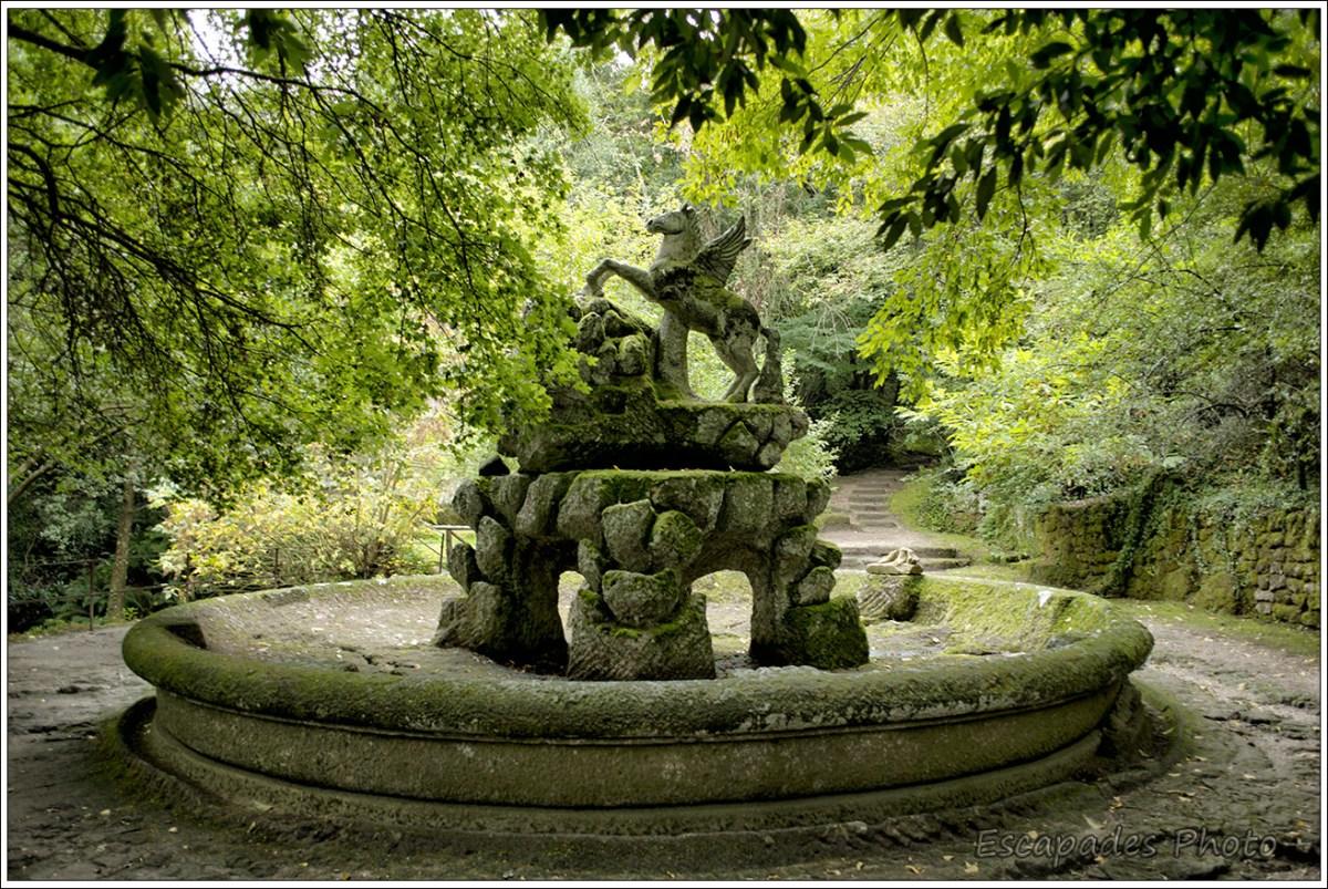 fontaine de Pégase