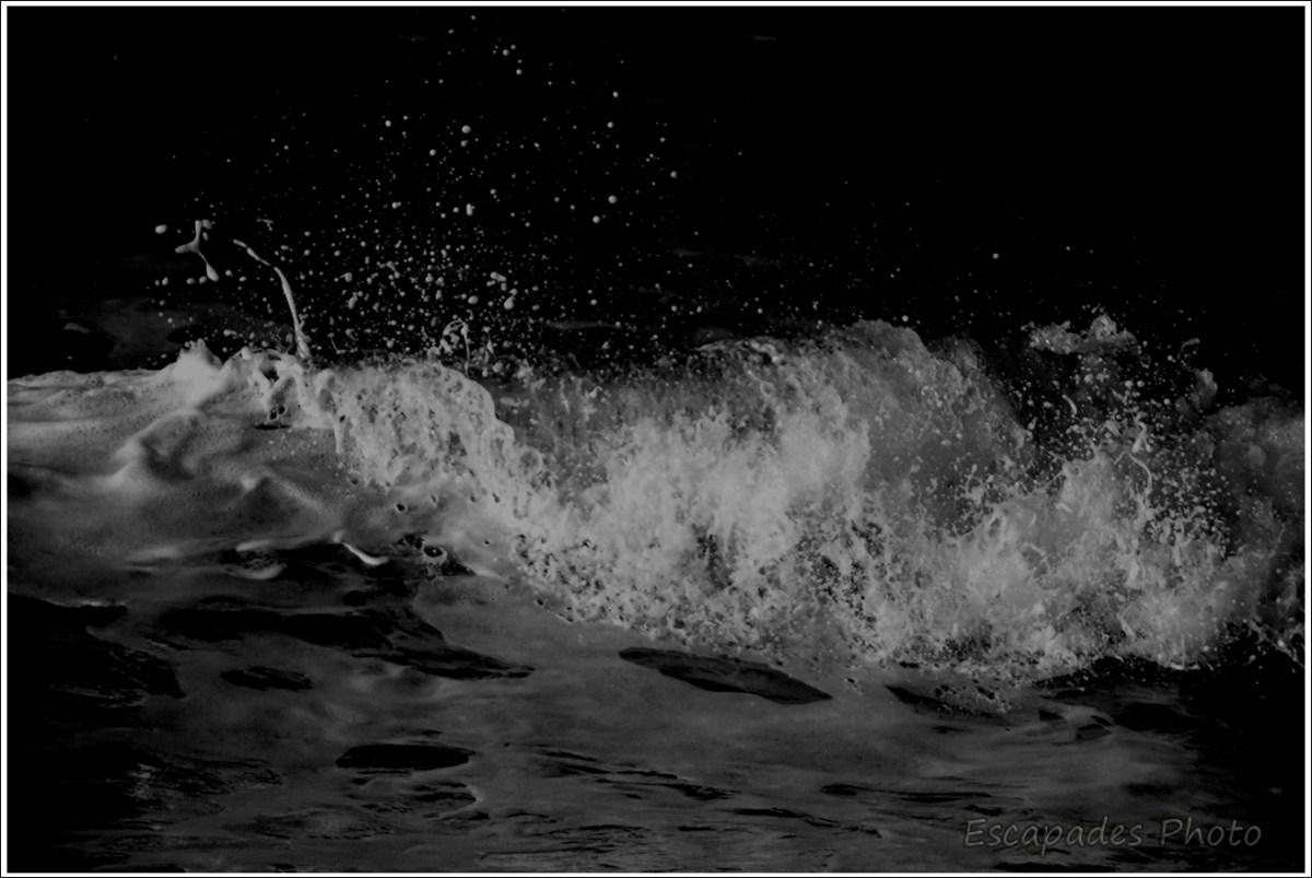 Quiberon, au cœur d'une vague
