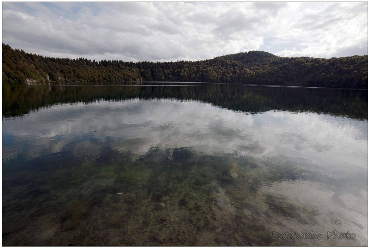 Lac Pavin, le déclin du jour