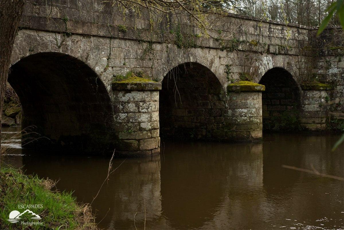 L'Inam ou Steir Laër - Pont de Saint Mélaine à Lanvénégen