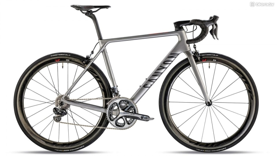 This year's most wanted road race bike: the canyon ultimate cf slx: