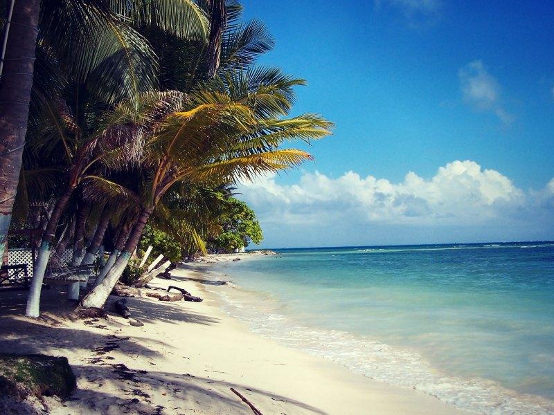 Karibikstrand auf San Andres Isla