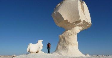 Weiße Wüste Ägypten