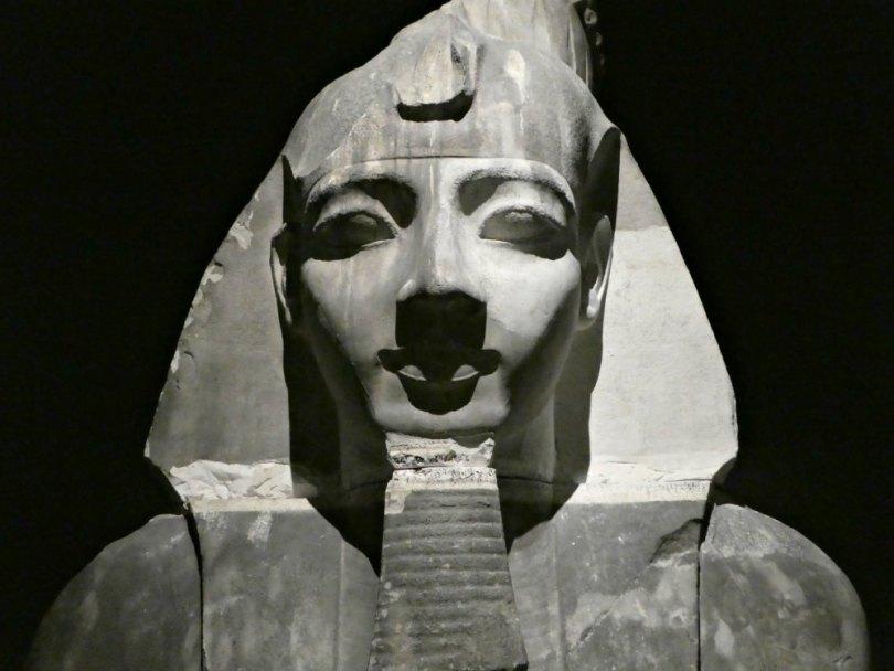 Ramses Ausstellung: Riesiger Gipsabguss
