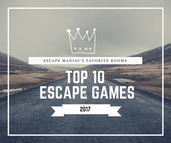 Top 10 Escape Games 2017