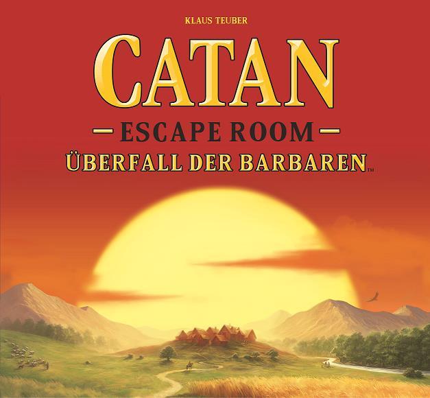 Vereint das Kultspiel mit dem Trendthema: Das neue Logo des CATAN Escape Rooms