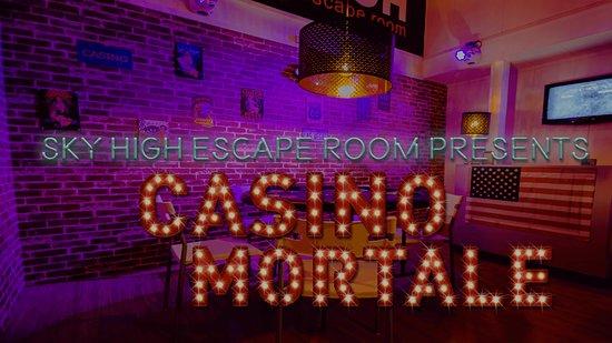 Casino Mortale - Sky High Escape Room - Almere