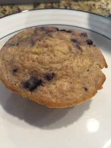 Can't go wrong with a blueberry muffin