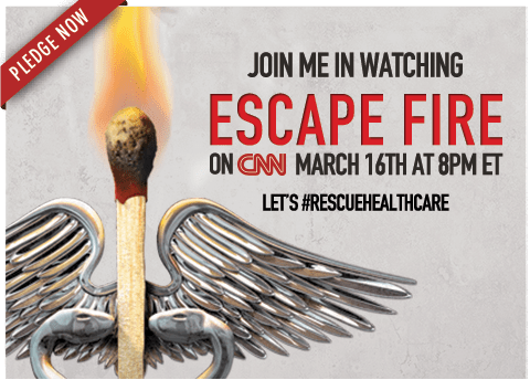 Join Me in watching Escape Fire