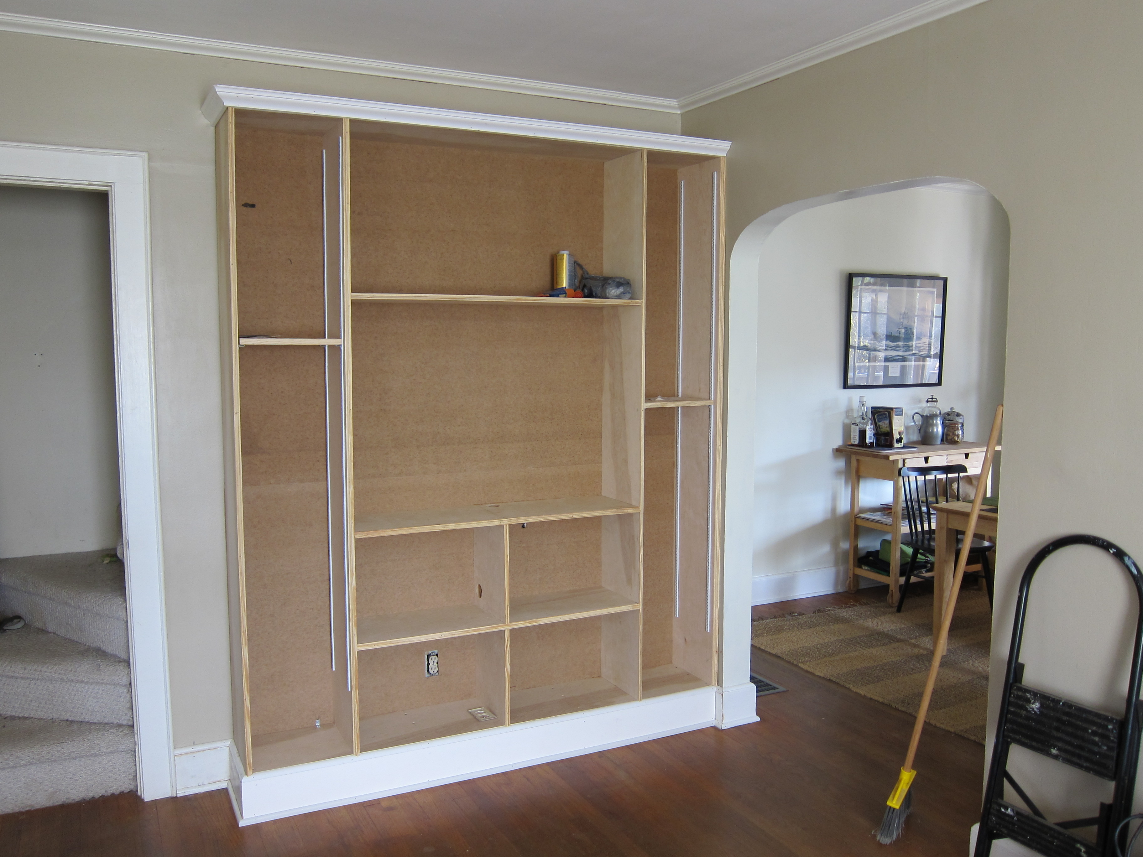 BuiltIn Wall Unit  escape from bk