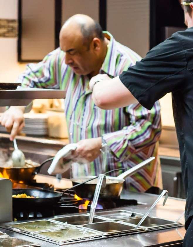 Nosh owner Avner Samuel still cooks