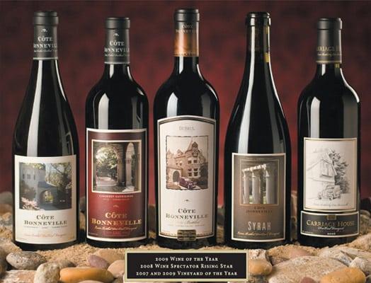 cote bonneville wines