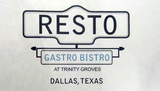 Resto Gastro Bistro, Dallas