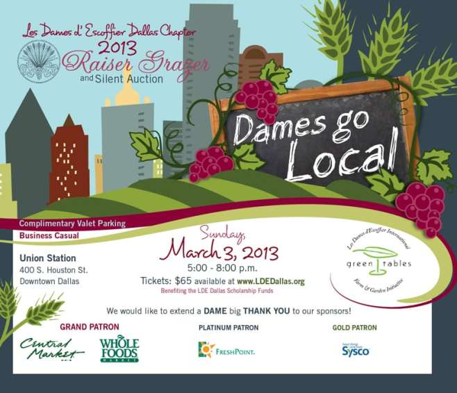 les dames d'escoffier raiser grazer dallas