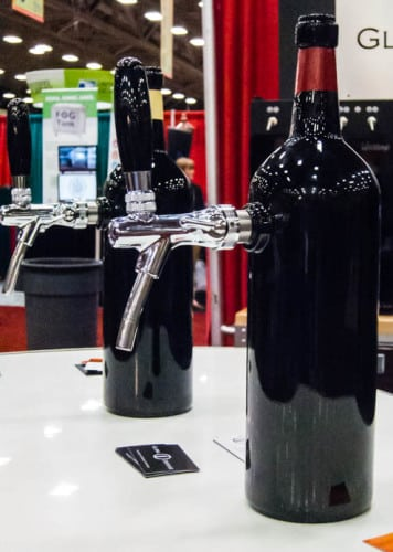 Cool wine dispensing systems on display from Global Dispense
