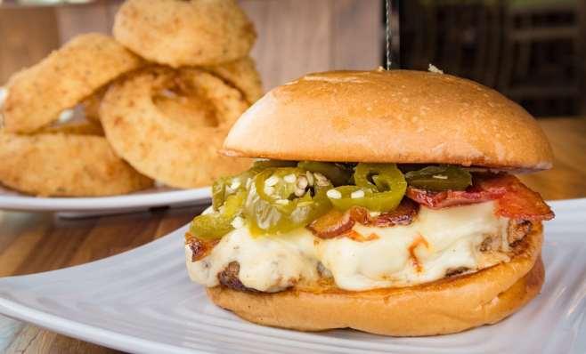liberty burger candied cowboy burger