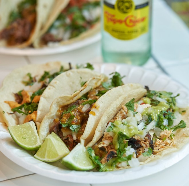 tacos from fort worths new maestros tacos