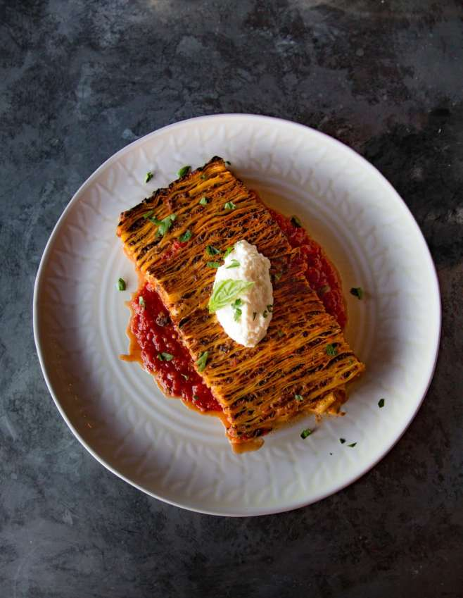 100 layer lasagna at fachini dallas highland park dallas copyright michael hiller