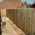 Picket Fencing in Wilmslow