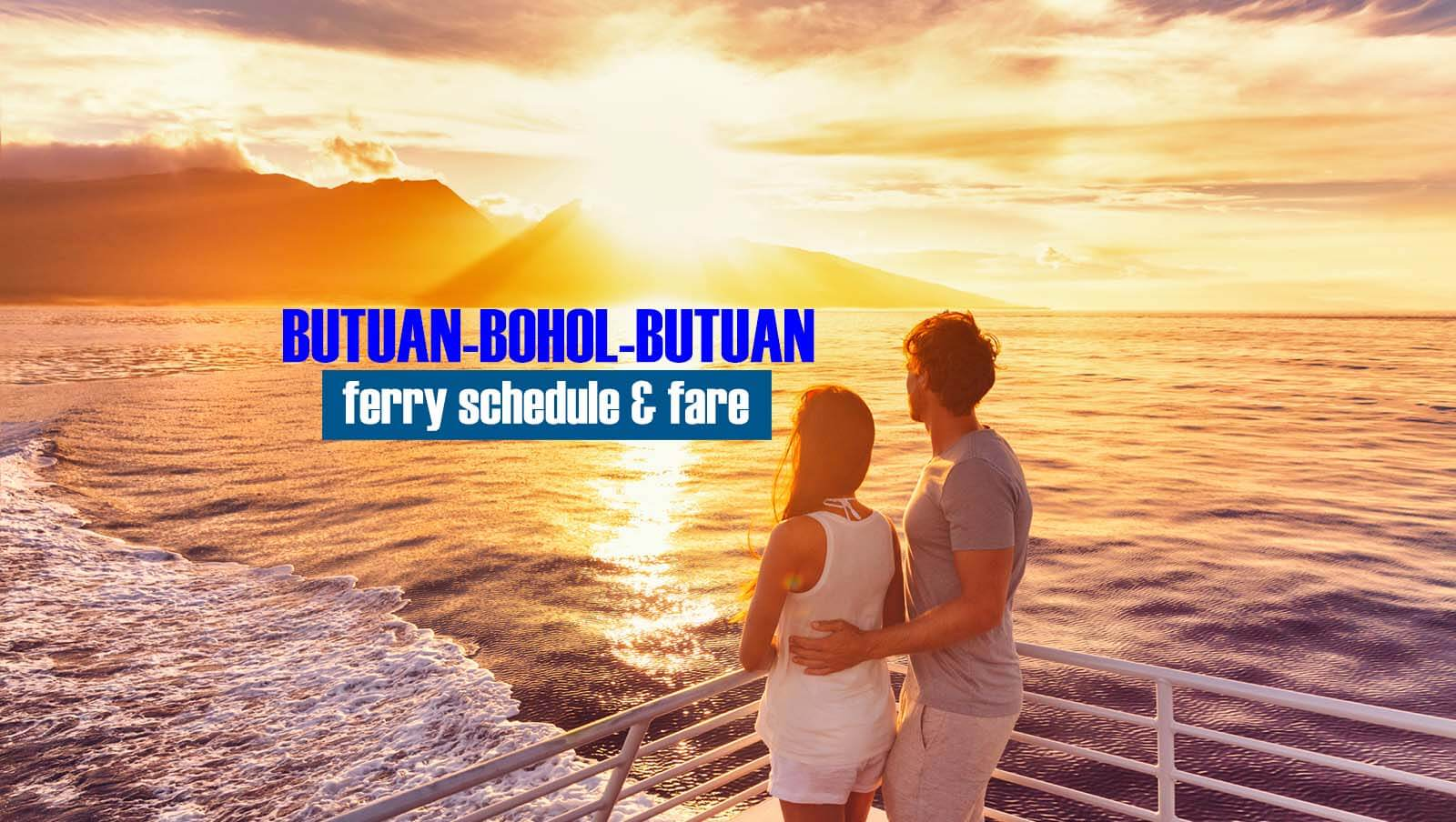 Butuan to Bohol: 2020 Ferry Schedule and Fare Rates